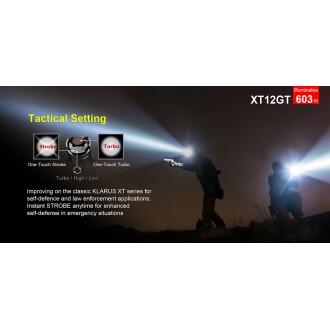 ΦΑΚΟΣ KLARUS XT12GT HUNTING KIT