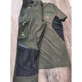 Παντελόνι ZOTTA FOREST SAFETY χακί-μαύρο
